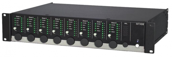 MTX88 8-Zonen Audio-Matrix mit Web-Interface