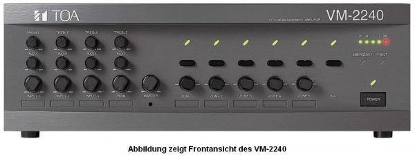 VM-2240 Digitales Beschallungsmanagement VM2000-Serie